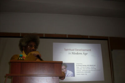 Лекция доктора Пранав Пандья в Центральном Совете Лиги. 9 октября 2012.